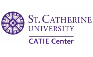 Logo for the CATIE Center at St. Catherine University