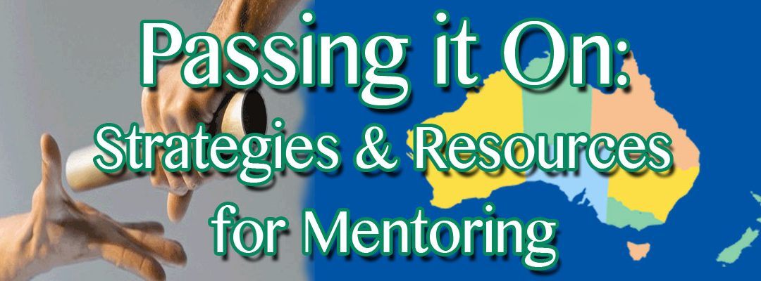 Passing it On:  Resources & Strategies for Mentoring – WA